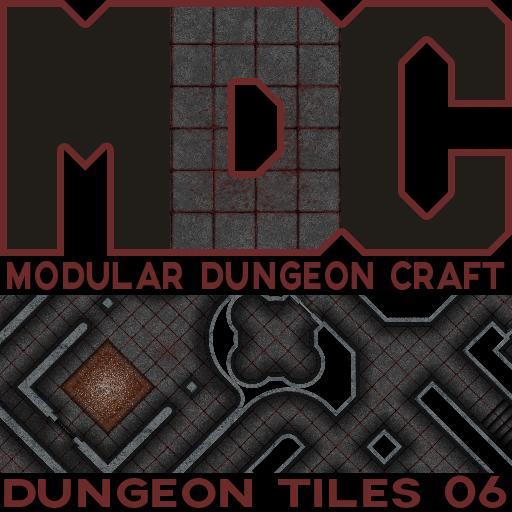 Modular Dungeon Craft, Dungeon Tiles 06