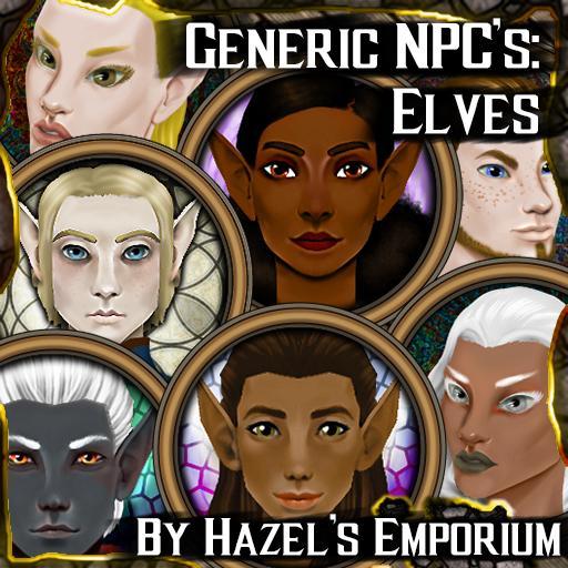 Generic NPC's - Elves