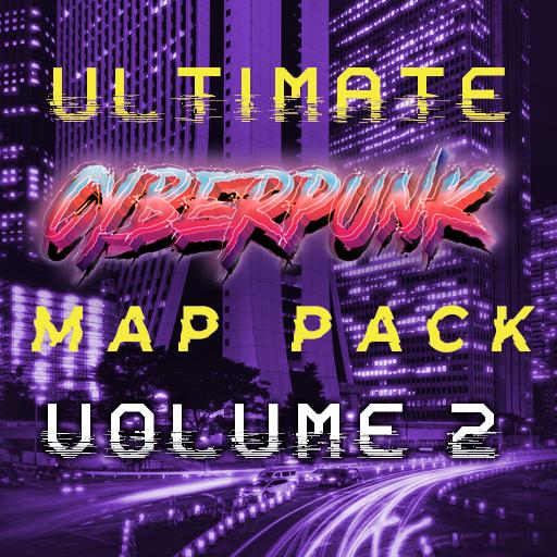 Ultimate Cyberpunk Map Bundle Volume 2
