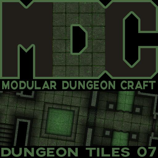 Modular Dungeon Craft, Dungeon Tiles 07