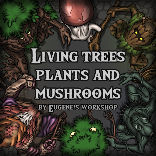 Living Trees, Plants and Mushrooms