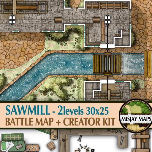 Sawmill & Creator Kit