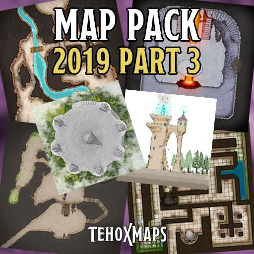TehoxMaps 2019 Pack 3