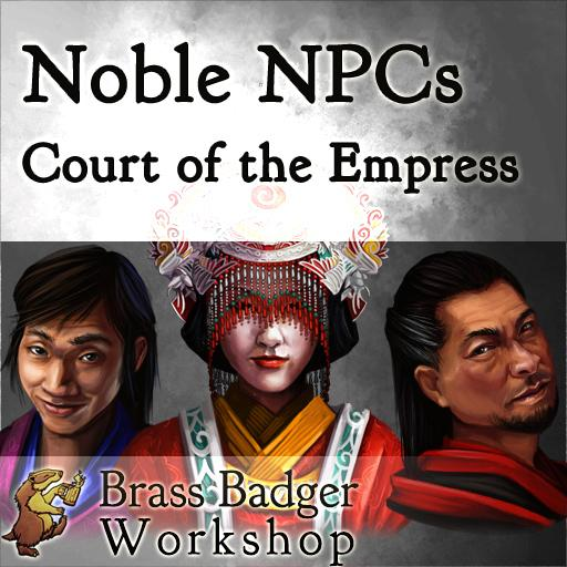 Noble NPCs Court of the Empress