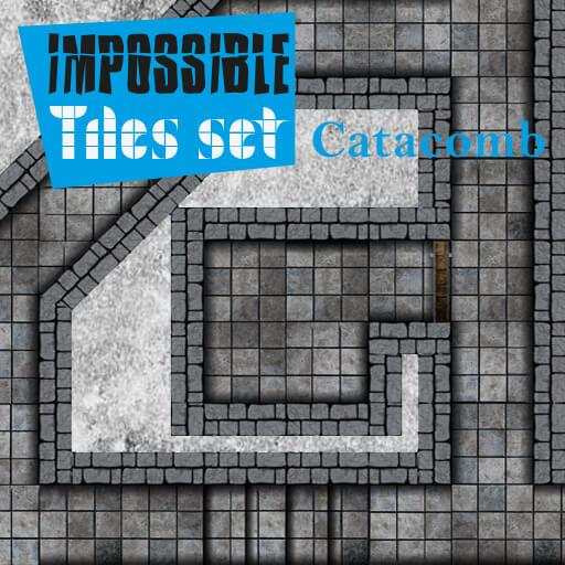 Impossible Tiles Set: Catacomb