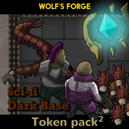SciFi Dark Base Token Pack 2