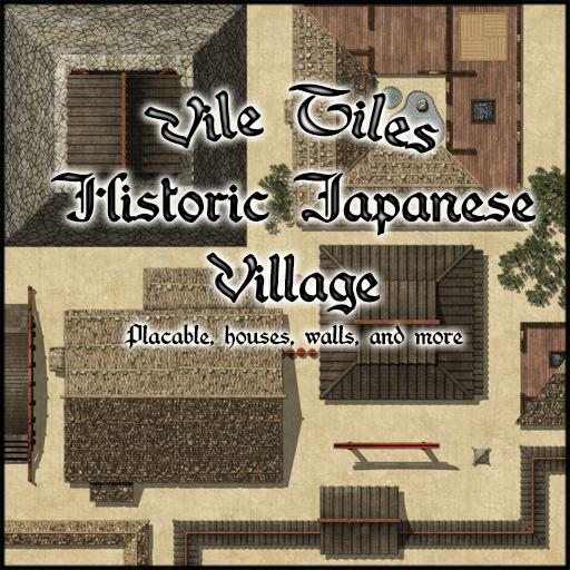 Vile Tiles: Historic Japanese Village