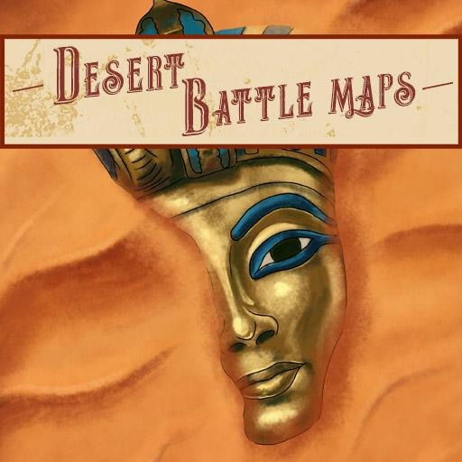 Desert Battle Maps and Assets
