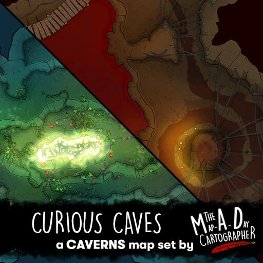Curious Caves Map Pack