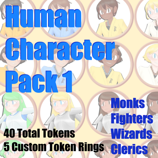 Matther's Human Character Pack 1