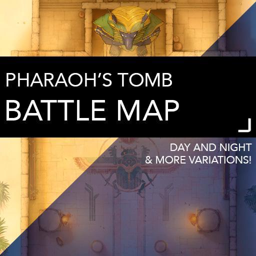 Pharaoh's Tomb Battle Maps