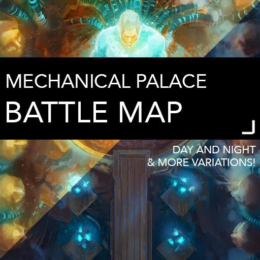 Mechanical Palace Battle Maps