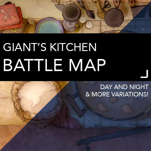 Giant's Kitchen Battle Maps