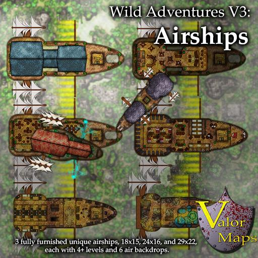 Wild Adventures V3: Airships