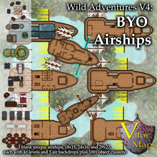 Wild Adventures V4: BYO Airships