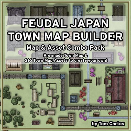 Feudal Japan Town Map Builder
