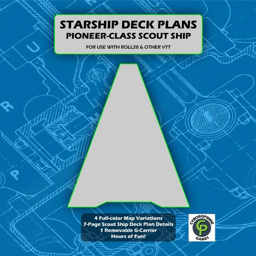 Pioneer-Class Scout Ship Deck Plans