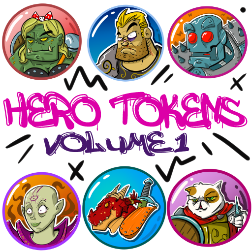 Hero Tokens: Volume 1