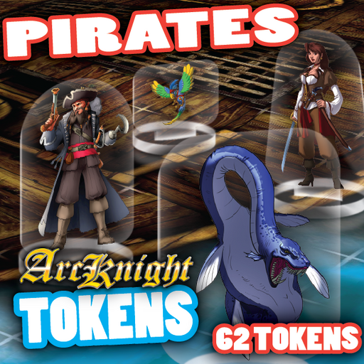 Arcknight Tokens - Pirates