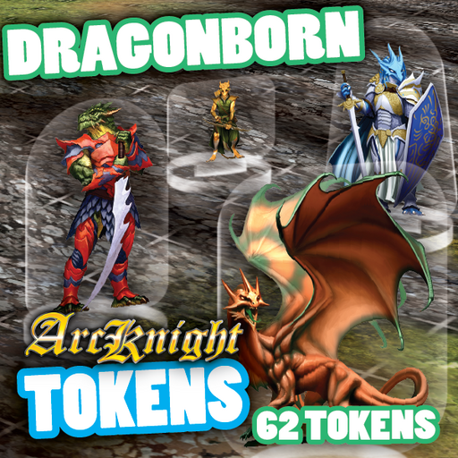 Arcknight Tokens - Dragonborn