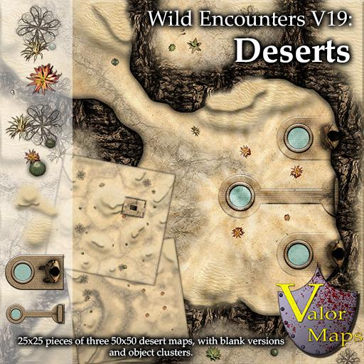 Wild Encounters V18: Desert Maps