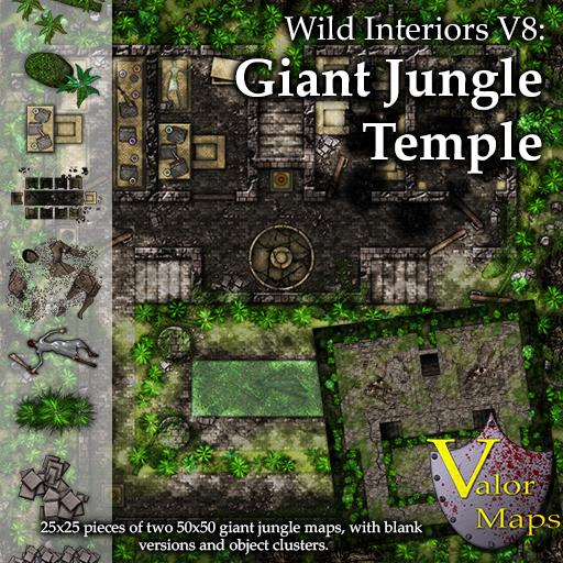 Wild Interiors V8: Giant Jungle Temple