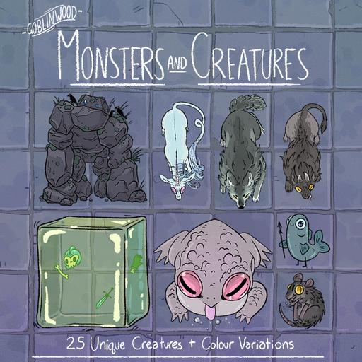 Goblinwood Monsters and Creatures
