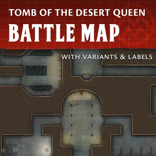 Tomb of the Desert Queen