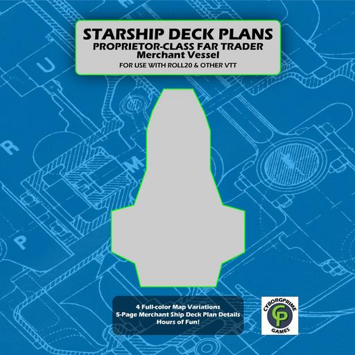 Proprietor-Class Far Trader Ship Deck Plans