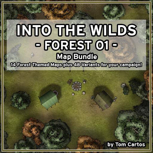 Into the Wilds Forest 01 Map Bundle