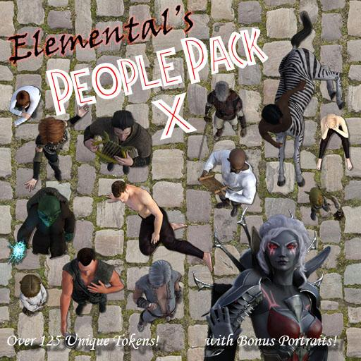 Elemental's People Pack 10