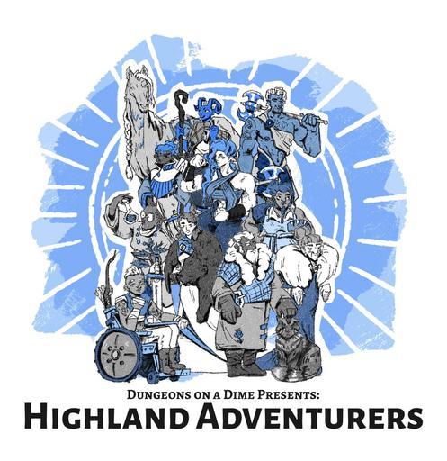 Highland Adventurers - DOAD Presents