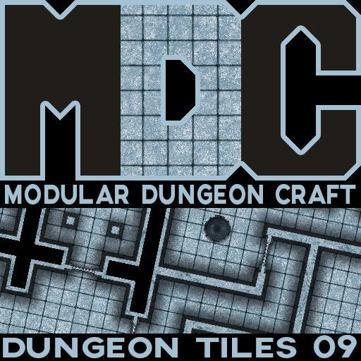 Modular Dungeon Craft, Dungeon Tiles 09