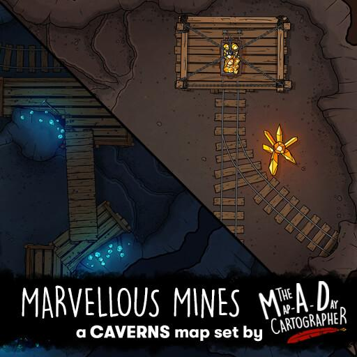 Marvelous Mines Map Pack