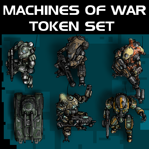 Machines of War Token Set