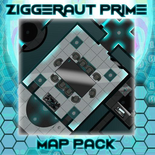 Futuristic Map Construction Pack