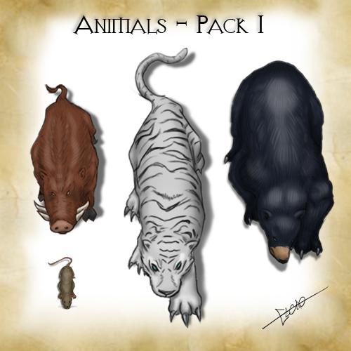 Animals - Pack 1