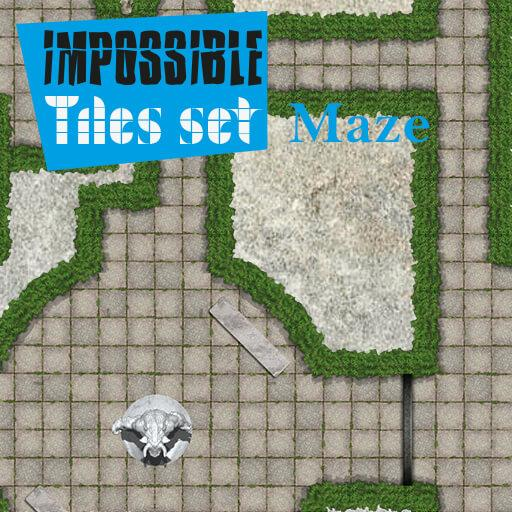 Impossible Tiles Set: Maze