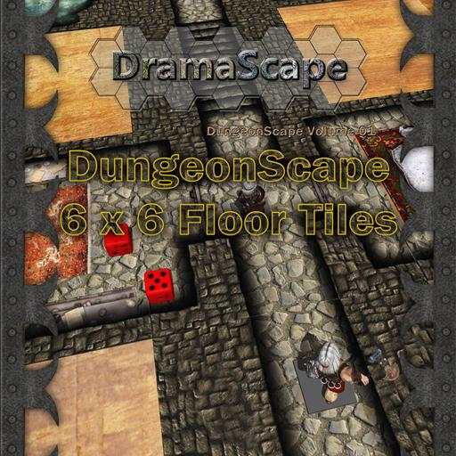DungeonScape 6 x 6 Tiles