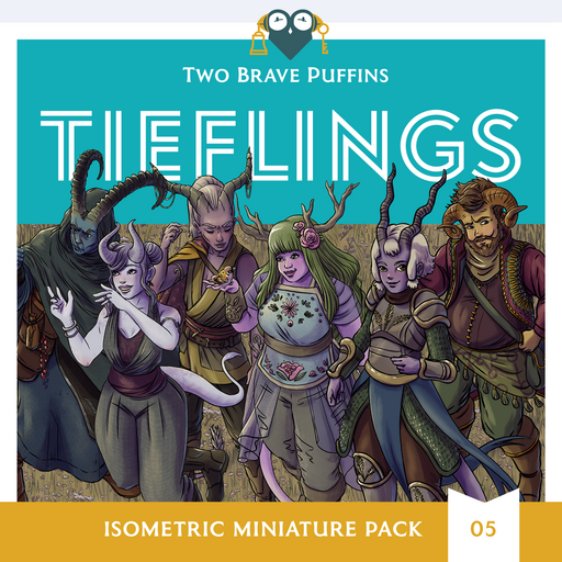 Tieflings - Isometric Heroes Pack 05