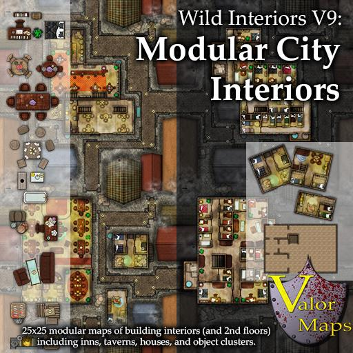 Wild Interiors V9 Modular City Interiors