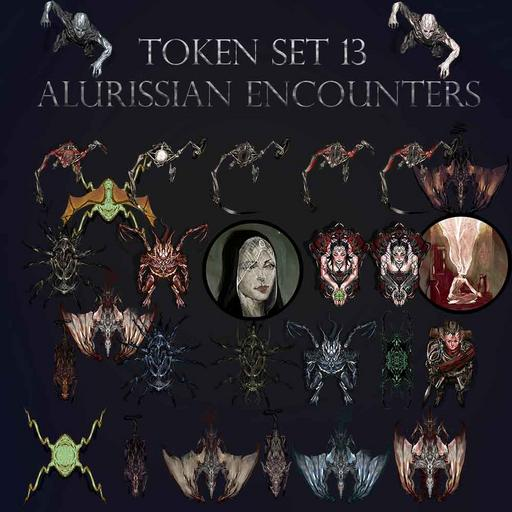 Token Set # 13 Alurissian Encounters