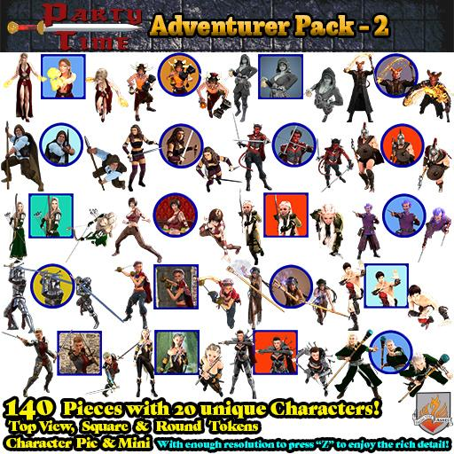 Party Time Adventurer Pack 02