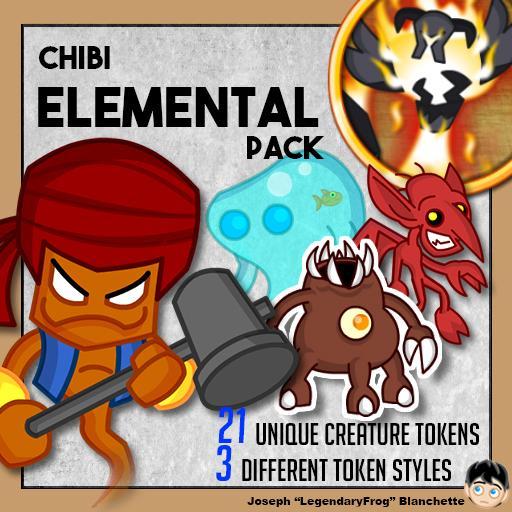 Chibi Elemental Pack