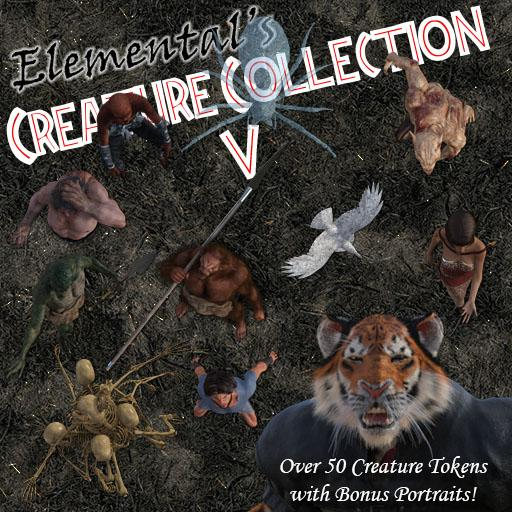 Elemental's Creature Collection 5