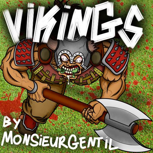 Vikings By Monsieur Gentil