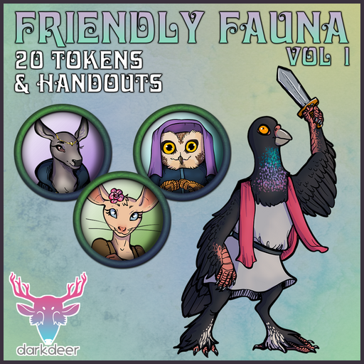 Friendly Fauna: Vol 1