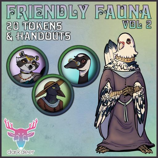 Friendly Fauna: Vol 2
