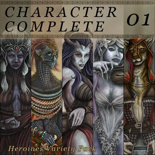 Character Complete Volume 01