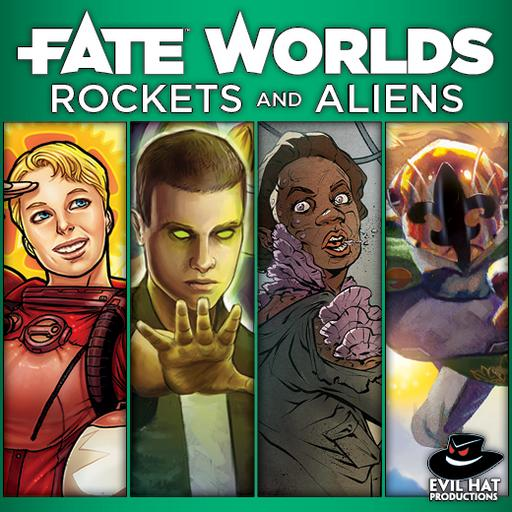 Fate Worlds: Rockets and Aliens Bundle